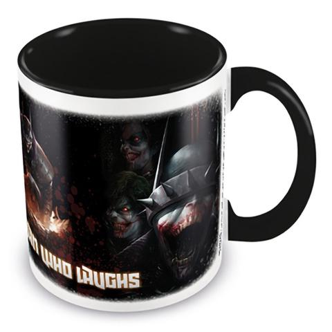 Кружка Batman (The Batman Who Laughs - The Face Of Evil) Black Coloured Inner Mug 315 ml MGC25410