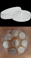 Две чашки Петри из полимера