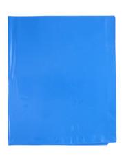 Обложка для тетрадей и дневника синяя, ПВХ