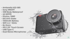 Экшн-камера SJCAM SJ10 Pro черный