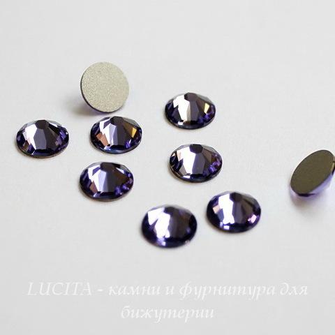 2028/2058 Стразы Сваровски холодной фиксации Tanzanite ss30 (6,32-6,5 мм)