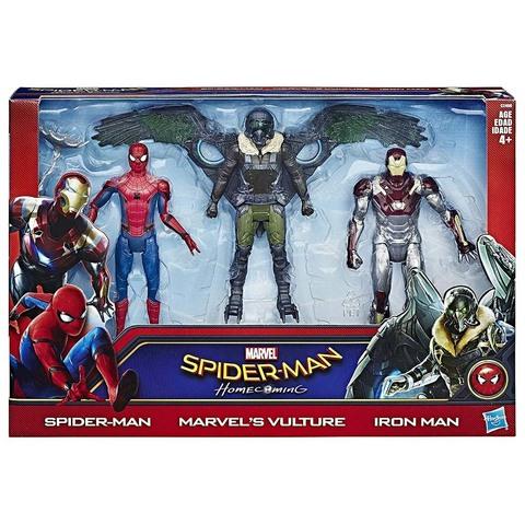Набор из 3 фигурок Человек-паук: Возвращение домой
