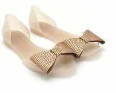 Бежевые силиконовые сандалии