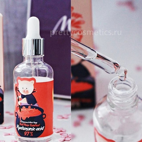 ELIZAVECCA Hell-Pore Сыворотка гиалуроновая Hell-Pore Control Hyaluronic Acid 97% 50 мл