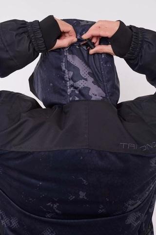 Костюм Зимний Горка (-40 Вельбоа/Черный) TRITON. С ПОЛУКОМБИНЕЗОНОМ