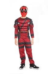 Мускулистый костюм Дэдпула для мальчика Ultimate Power