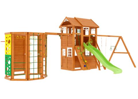 Детская площадка Клубный домик 2 с WorkOut Luxe