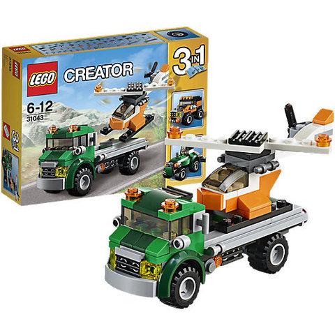LEGO Creator: Перевозчик вертолета 31043 — Chopper Transporter — Лего Креатор Создатель