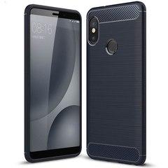 Противоударный чехол для Xiaomi Mi A2 Lite (6 Pro) (Темно-синий)