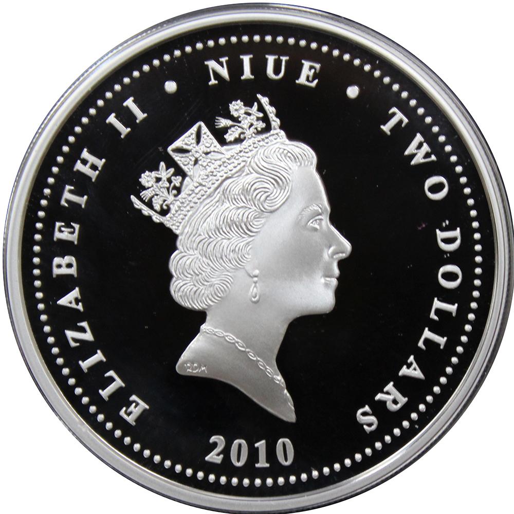 2 доллара 2010 год