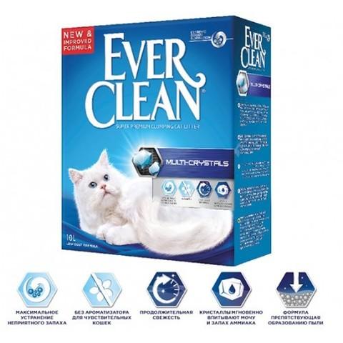 Наполнитель Ever Clean Multi-Crystals 10 л