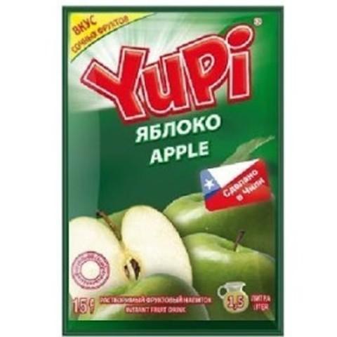 Растворимый напиток Yupi яблоко 15 г