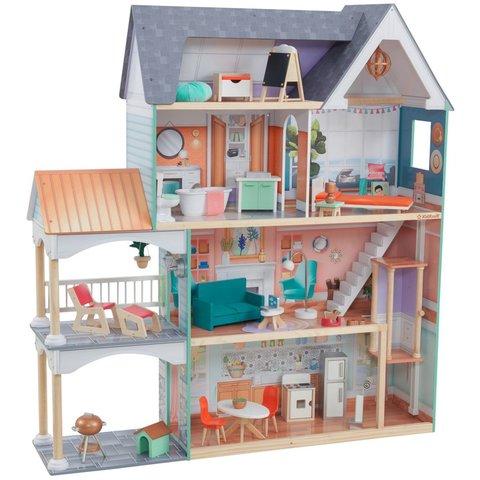 KidKraft Далия - кукольный домик с мебелью 65987_KE