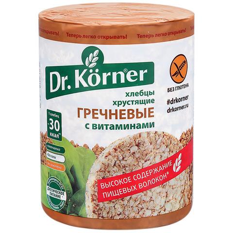 """Хлебцы """"Dr. Korner"""" гречневые с витаминами 100 г"""
