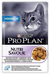 Пауч Purina Pro Plan HOUSECAT, для домашних кошек, с индейкой