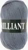 Пряжа Vita Brilliant 4980  (Серый)