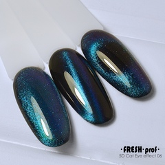 Гель лак Fresh prof 5D cat eye №6 10g