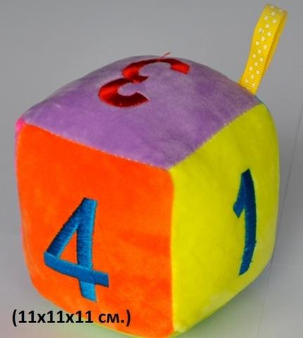 СТ022 Кубик погремушка (11х11х11см)