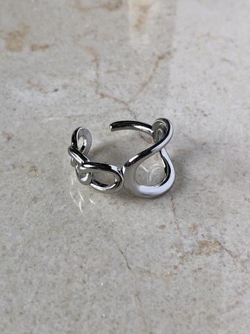 Кольцо Моцарт, серебряный цвет