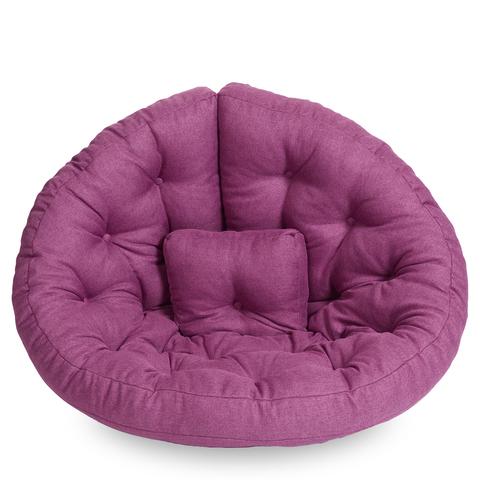 Бескаркасное кресло-футон «Оустер», Сиреневый