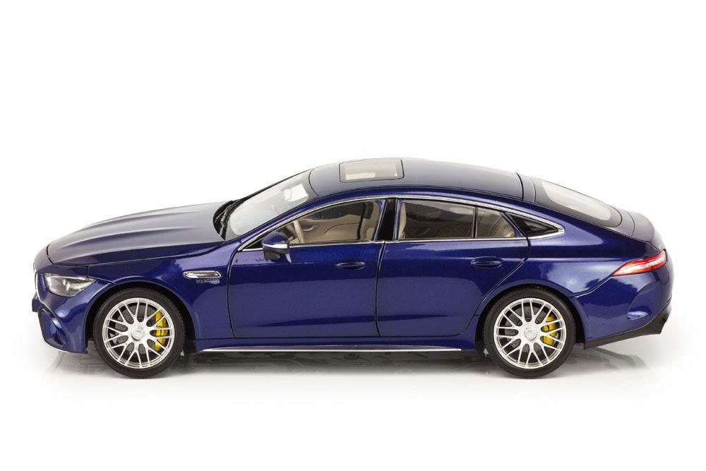 Коллекционная модель MERCEDES-BENZ X290 AMG GT 63 S COUPE 2019 BRILLIANT BLUE