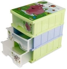 OKT Prima Baby Ящик Hippo 3-х секционный (2210OKT)