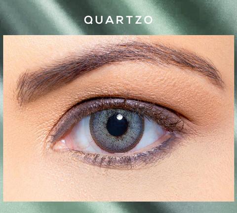 Голубые линзы Solótica® Solflex NC - Quartzo