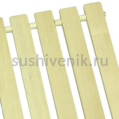 Решетчатый коврик для бани (липа)