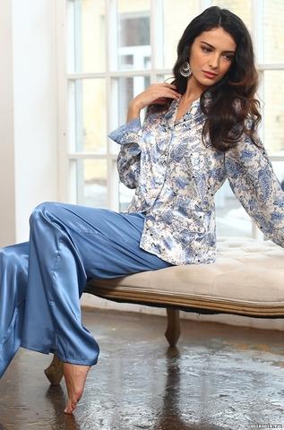 Шелковая пижама DOLCE VITA (70% нат.шелк)