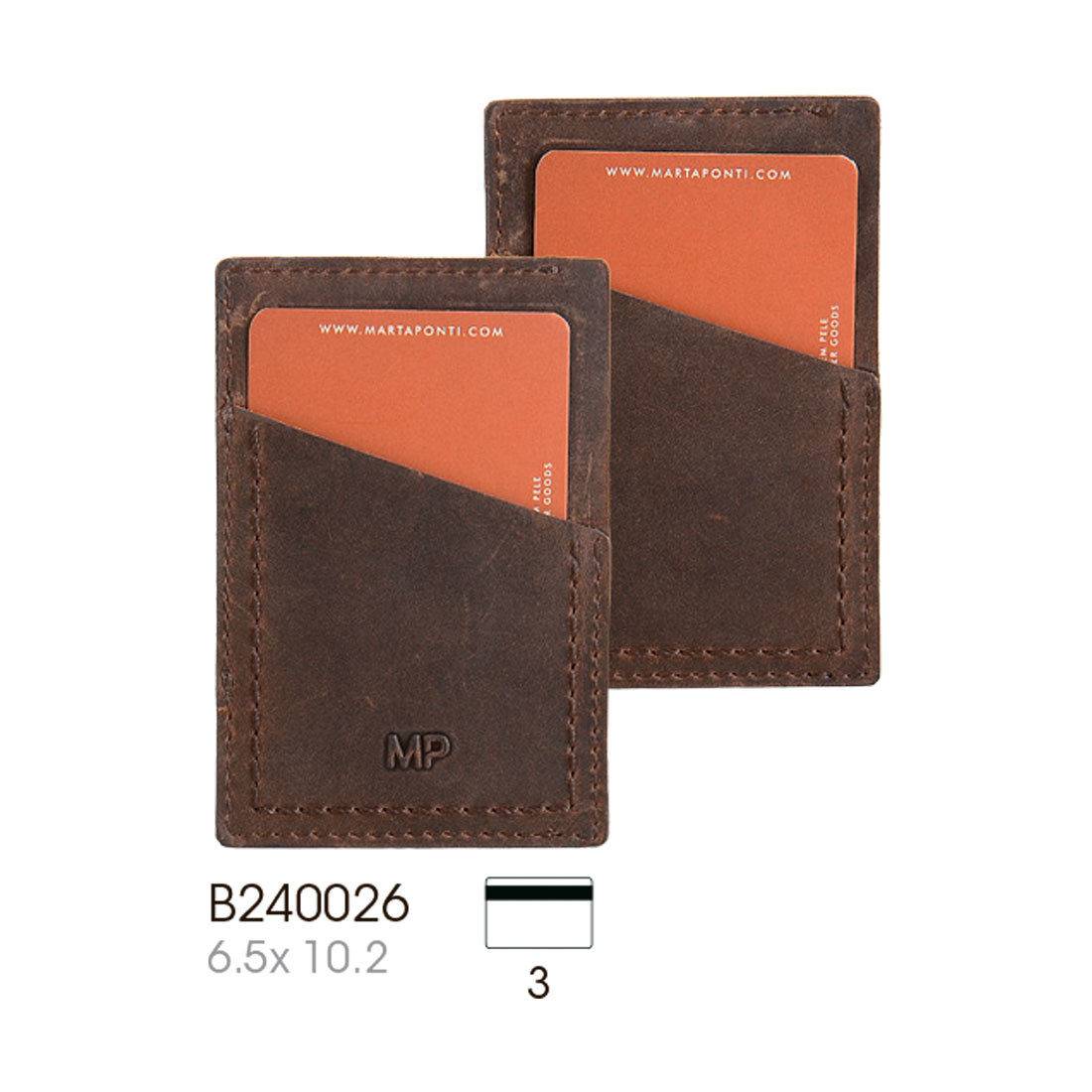 B240026 Cast/Camel - Футляр для карт MP