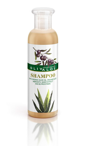 Шампунь для всех типов волос OlivAloe 200 мл