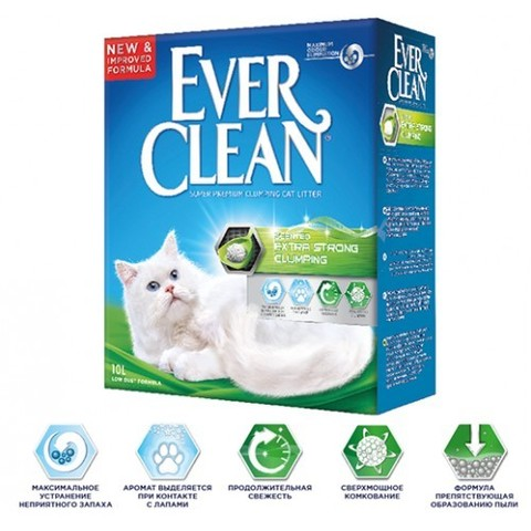Наполнитель Ever Clean Extra Strength Scented 10 л