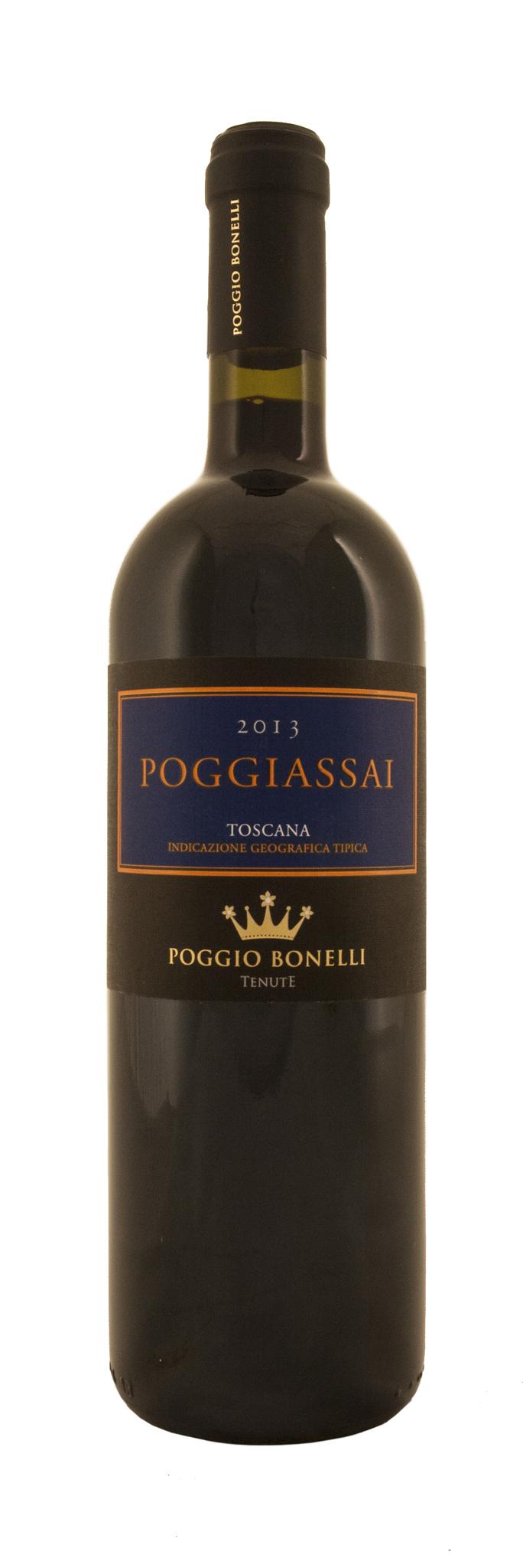 Вино Поджассай Тоскана красное сухое выдерж. защищ.геогр.указ. кат.IGT рег.Тоскана 0,75л