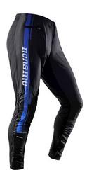Брюки беговые Noname Running Pants PLUS CLUBLINE Black-Blue