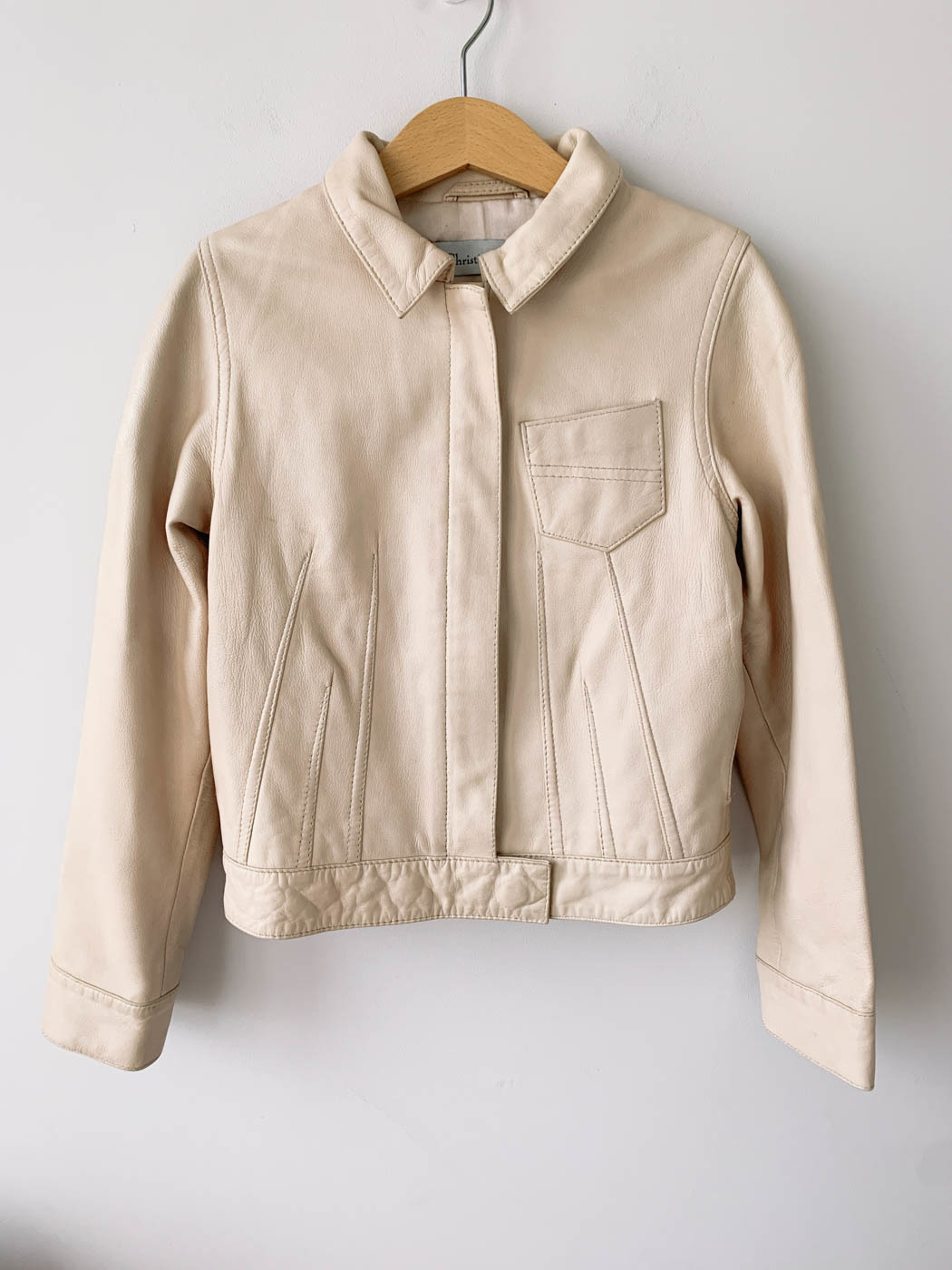 Кожаная куртка Christian Dior