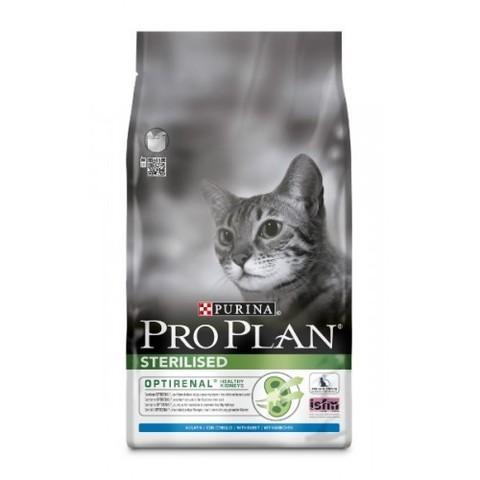 10 кг. PURINA PRO PLAN Сухой корм для стерилизованных кошек с кроликом Sterilised Rabbit