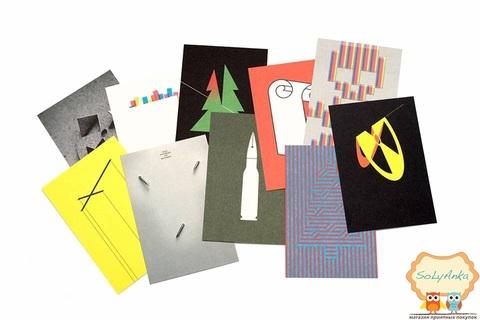 Набор открыток от дизайнера-графика Николая Коваленко