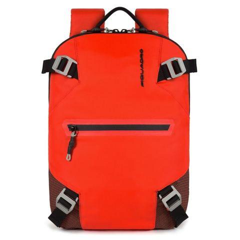 Рюкзак Piquadro, красный, 27х37х7 см
