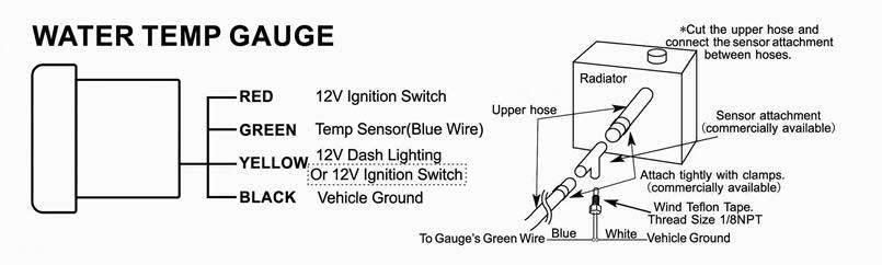 Инструкция по подключению датчика температуры охлаждающей жидкости авто