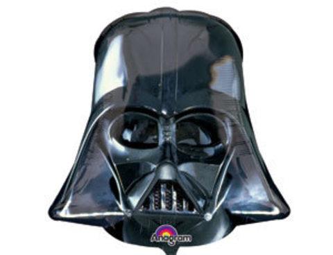 Фольгированный шар Звездные Войны Шлем Вейдера