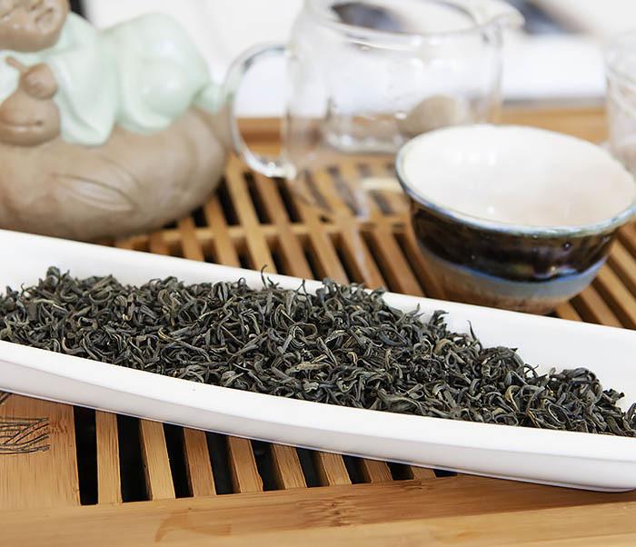 TEA-CH105 Зеленый китайский чай «Облачный Туман» ( Юнь У, 50 гр) фото 04