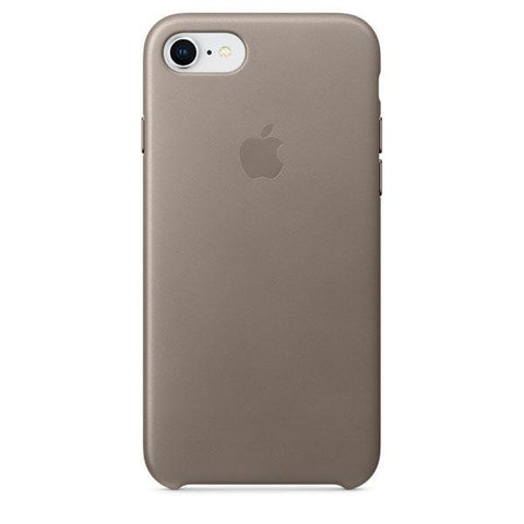 Чехол iPhone 7 Leather Case /taupe/
