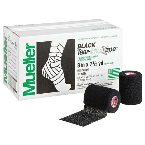 130643 Tear-Light Tape®, Black, Легко разрываемый, Черный (7,6см-6,85м) в уп. 24 рул