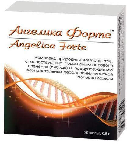 БАД для женщин  Ангелика Форте  - 30 капсул (0,5 гр.)