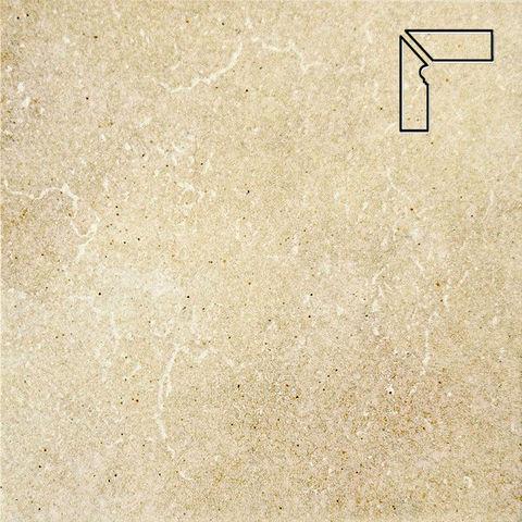 Interbau - Alpen, Allgau/Золотистый песок, цвет 044 - Клинкерный плинтус ступени левый, 3 части