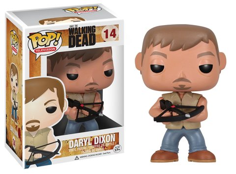 Фигурка Funko POP! Vinyl: The Walking Dead: Daryl 2954