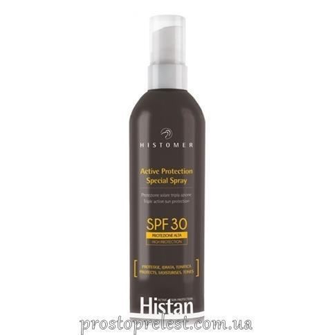 Histomer Histan Active Protection Spray SPF30 - Сонцезахисний спрей для обличчя-тіла дітей