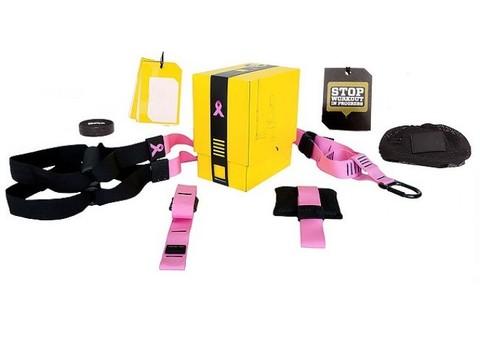 Тренажер TRX HOME Pink 3 шт.