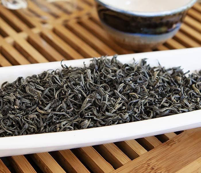 TEA-CH105 Зеленый китайский чай «Облачный Туман» ( Юнь У, 50 гр) фото 05
