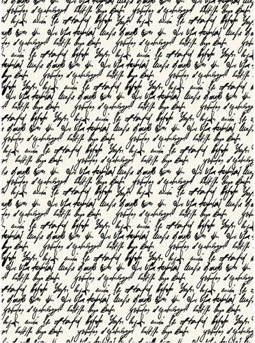 Рисовая бумага для декупажа Письмо, А3